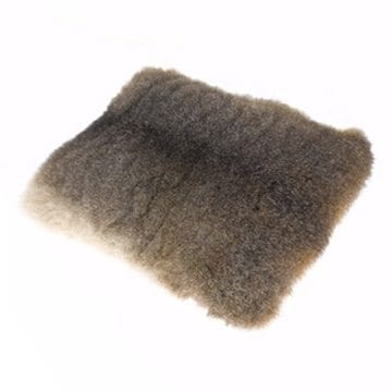 Silver Possum Fur Cushions From Ecowool