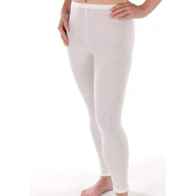 Merino Thermal Wool Leggings - Ladies From Ecowool