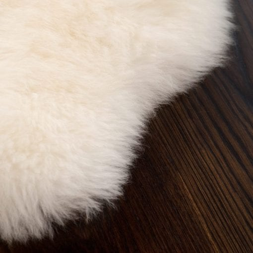 Sheepskin Ecowool Infant Rug - Long Pile, Soft Ivory